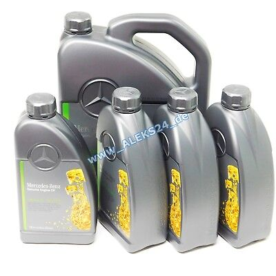 9L Orig Mercedes Synthetic Engine Oil Service 5W30 MB 229.51 A000989701 9 Litre