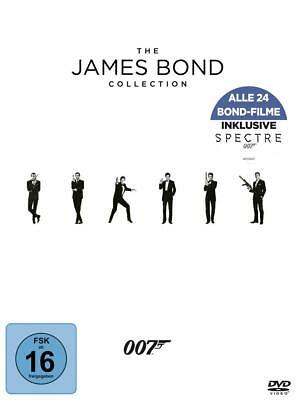 THE JAMES BOND COLLECTION (24 DVDs) incl. Spectre NEU+OVP
