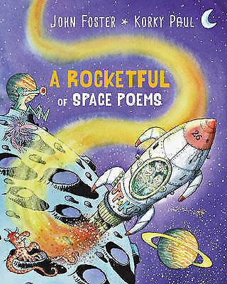 A Rocketful of Space Poems,Foster, John,New Book mon0000141708