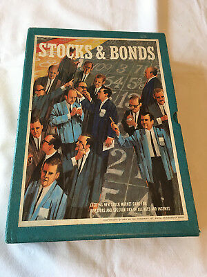 Vintage boardgame Stocks and Bonds 3M Company