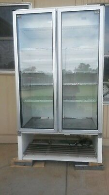 2 door Commercial fridge - Excellent For Home Or Workplace