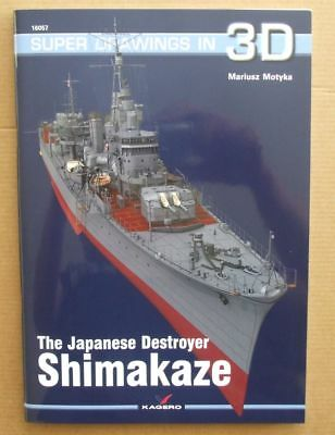 The Japanese Destroyer Shimakaze - Super Drawings in 3D - Kagero N*E*W*!