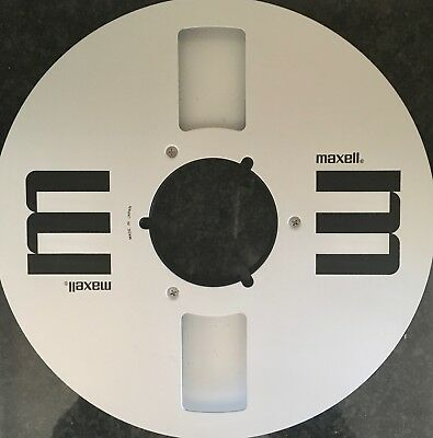 """Maxell 10.5"""" 1/4"""" Metal reel in excellent condition"""