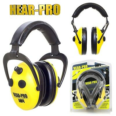 HEAR PRO HX4 Stereo Professional Electronic Ear Defenders Muffs DIY Workshop