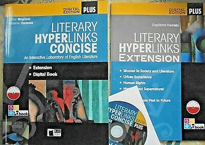 LITERARY HYPERLINKS CONCISE (2 VV con DVD)- DIGITAL EDIT.PLUS - MAGLIONI - CIDEB