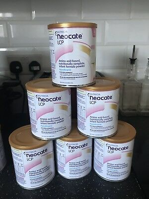 Neocate LCP 6 Tins Dated 2020