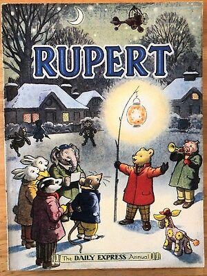 RUPERT ANNUAL 1949 ORIGINAL NOT Inscribed NOT Price Clipped Incredibly FINE!
