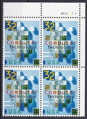 (84) 1996 USA Mi. Nr. 2784 ** postfrisch VB Computertechnologie