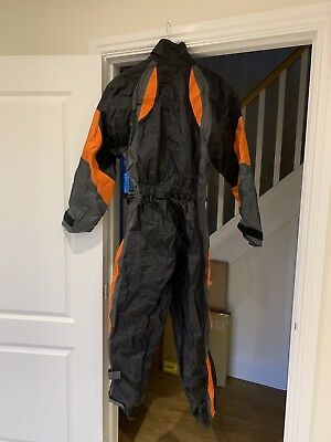 Frank Thomas Aqua Motorcycle Rainsuit