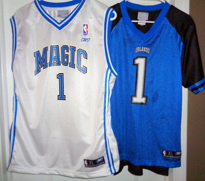 sports shoes 40d1e 4bd86 2 REEBOK TRACY McGrady Jersey & Shirt / Orlando Magic / YOUTH XL 18-20 /  NWOT