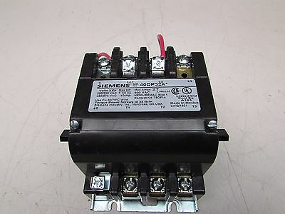 Siemens 40Dp32A*  Size 1 Contactor  , 27A / 110/120V Coil, Takeout! Make Offer!