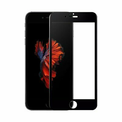 VONUO Panzer-Folie Apple iPhone 6s Gorilla Glas 9H Displayschutz SCHWARZ BULK