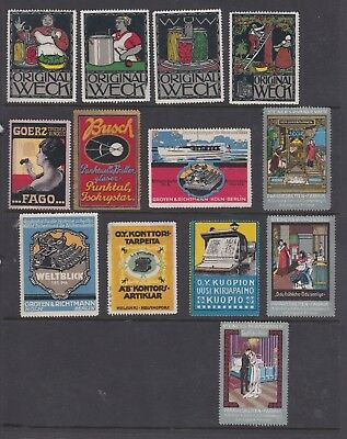 Finland Cinderella Advertising stamps small collection