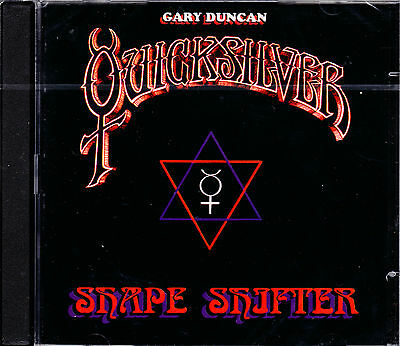 GARY DUNCAN QUICKSILVER shapeshifter volumes one & two 2CD NEU OVP/Sealed