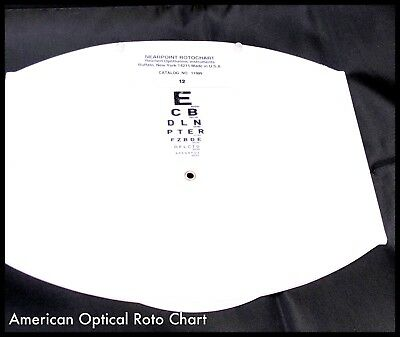 Reichert/American Optical Phoropter/Refractor Replacement Cards (New)
