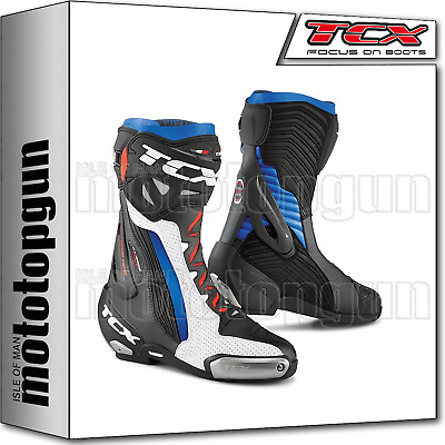 TCX Boots SP-Master Air Boots 44 10 White//Black//Red 7666-BNRO-44