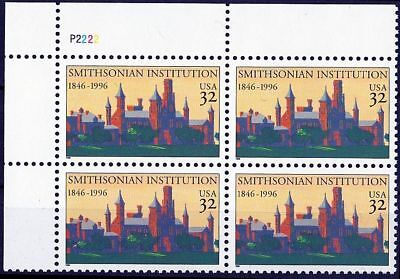 (95) 1996 USA Mi. Nr. 2693 ** postfrisch VB 150 Jahre Smithsonian Institution