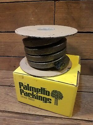 Packing Seal 3/4 Sq In. 10 Ft Palmetto Packing No.1555 Graphite Filament