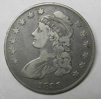 1835 Silver Capped Bust Half Dollar