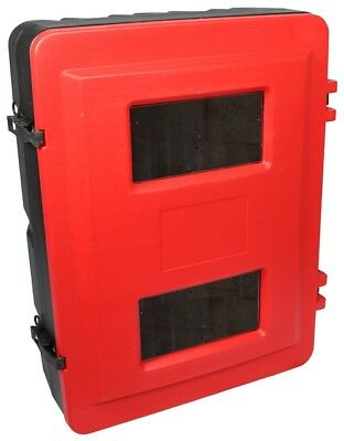 Double Fire Extinguisher Cabinet Box - FREE DELIVERY - Meets UK Fire Regulations