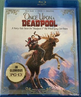 Once Upon A Deadpool (Blu-ray + DVD + Digital)