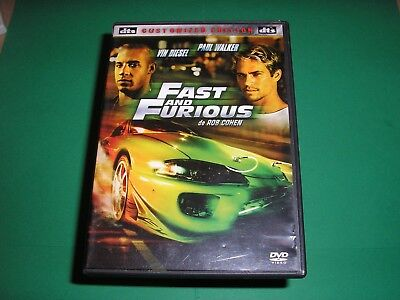 "DVD,""FAST AND FURIOUS"",vin diesel,paul walker,...."