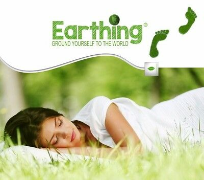 New! Earthing / Grounding Sheet Pillow Case 50*75CM SHIELD EMF Healing Slip