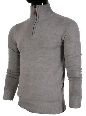 gris homme montant XL clair col pull IHFFq