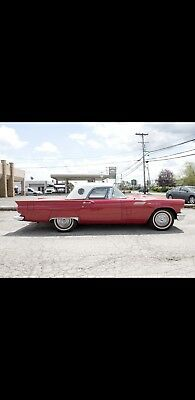 1957 Ford Thunderbird  1957 Thunderbird, Low Miles, Refurbished, Awesome Red, Convertible Hardtop