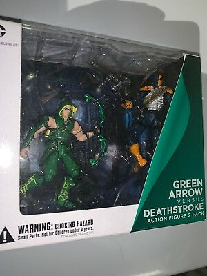 Diamond Comic DC Collectibles Injustice Deathstroke Green Arrow Action Figures