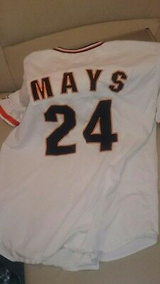 MLB Baseball Trikot XL Willie Mays 90er hall of Fame San Francisco Giants.