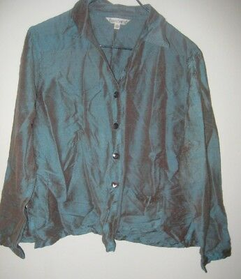 7242ae9f8d5 New Travelsmith Travel Ponte Perfect Bernadette Jacket Navy Blue Size 6.   17.98 Buy It Now 2d 5h. See Details. Size Large 100% Silk Travel Smith  Travelsmith ...