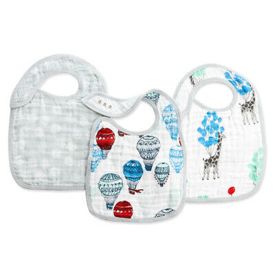 Aden and Anais  3-pack classic snap bibs Several styles Free Shipping