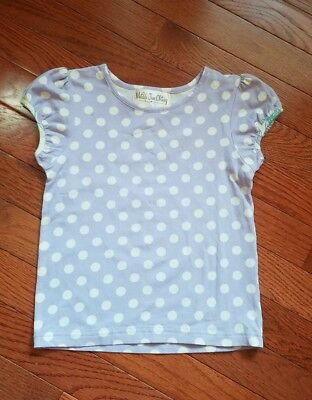 Matilda Jane 2 Short Sleeve Shirt Good Hart Blue Bell Top Tee Size 2t Girls
