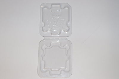 100 pcs New Inter CPU Clamshell Tray Case For 478 775 1150 1155 1156 i3 i5 i7CPU