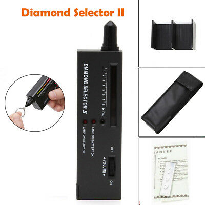 Portable Diamond Gem Tester Selector V2 with Case Gemstone Platform Jeweler Tol
