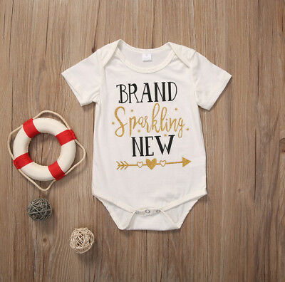 Newborn Infant Baby Girl Fashion Cotton Romper Playsuit Bodysuit Clothes Outfits
