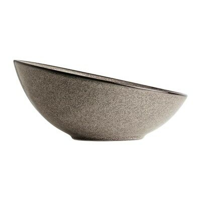 Pack of 4 Olympia Mineral Sloping Bowl 215mm | Porcelain Crockery