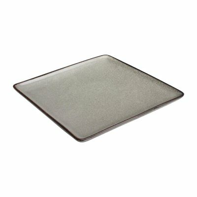 Pack of 6 Olympia Mineral Square Plate 230mm | Food Serving Dishes