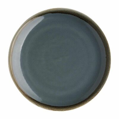Pack of 6 Olympia Kiln Round Coupe Plate Ocean 230mm | Food Serving Dishes