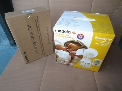 Medela 101034714 Freestyle Double Electric Breast Pump Solution Set **NEW
