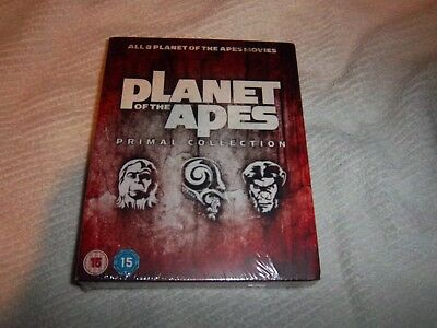 Planet of the Apes Primal Collection 1-8 [All 8 Films] (Blu-ray, 8 Discs) *NEW*