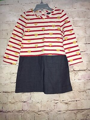 93bf9417a BABY GAP GIRLS Sweater Leggings Set 2 Piece Red Gold Hearts Size 2T ...