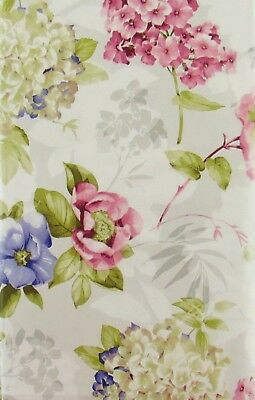 Springtime Flowers in Bloom Vinyl Flannel Back Tablecloth Various Sizes