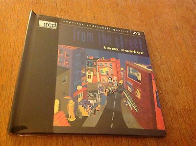 Tom Coster ~ From The Street ~ Jvc Xrcd, 1996 ~ Jvcxr-0010-2 ~ Sealed!!