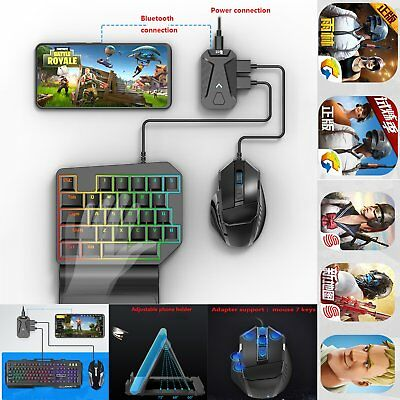 PUBG Mobile Gaming Keyboard Mouse Adapter Converter for Android Phone iPhone FS