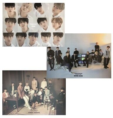 SEVENTEEN - [ You Made My Dawn ]  - POSTER ONLY -  (Choose Version)