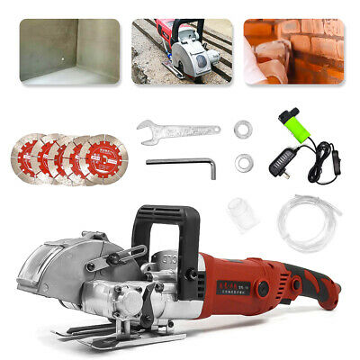 3600W 42mm Electric Wall Chaser Groove Steel Concrete Cutting Slotting Machine