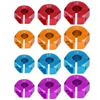 12mm Universal Wheel Hex Hub Adapter for HSP Sakura 1/10 Scale RC Off-road Car