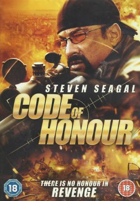 Code of Honour (DVD, 2016) Action Violence Steven Seaga **brand new and sealed**
